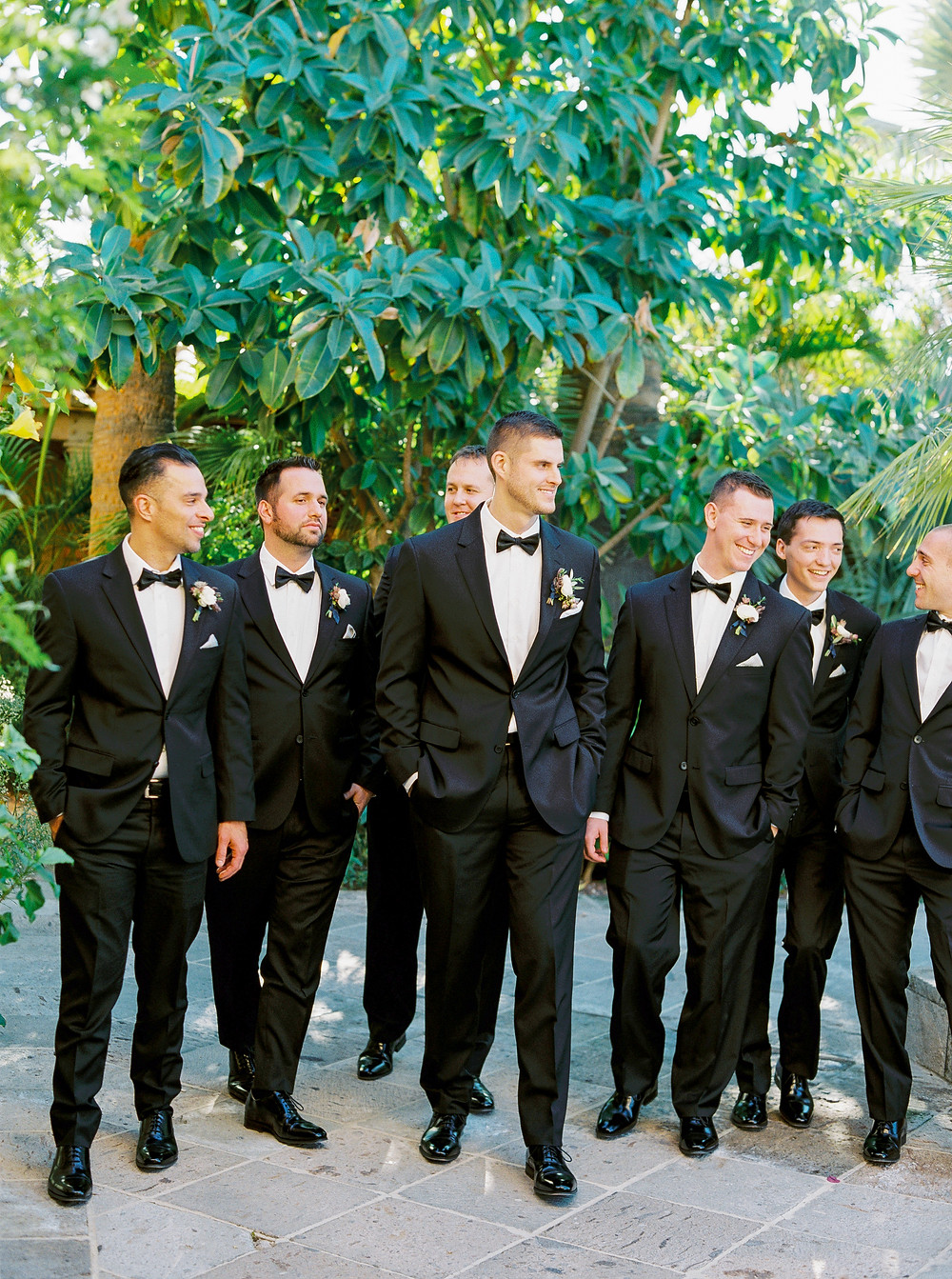 Royal Palms Wedding, Groomsmen, Bridal Party