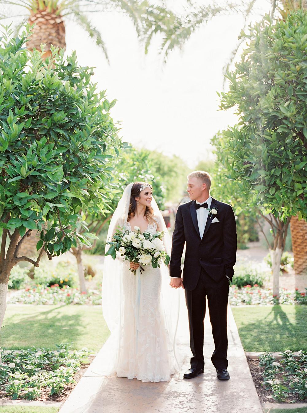 Montelucia Wedding, Bride & Groom