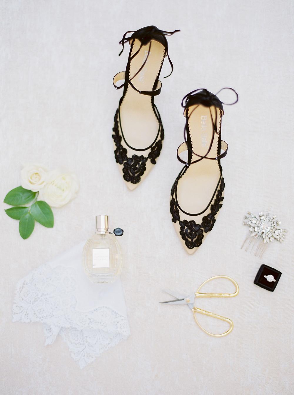 Royal Palms Wedding, Details, Wedding Shoes
