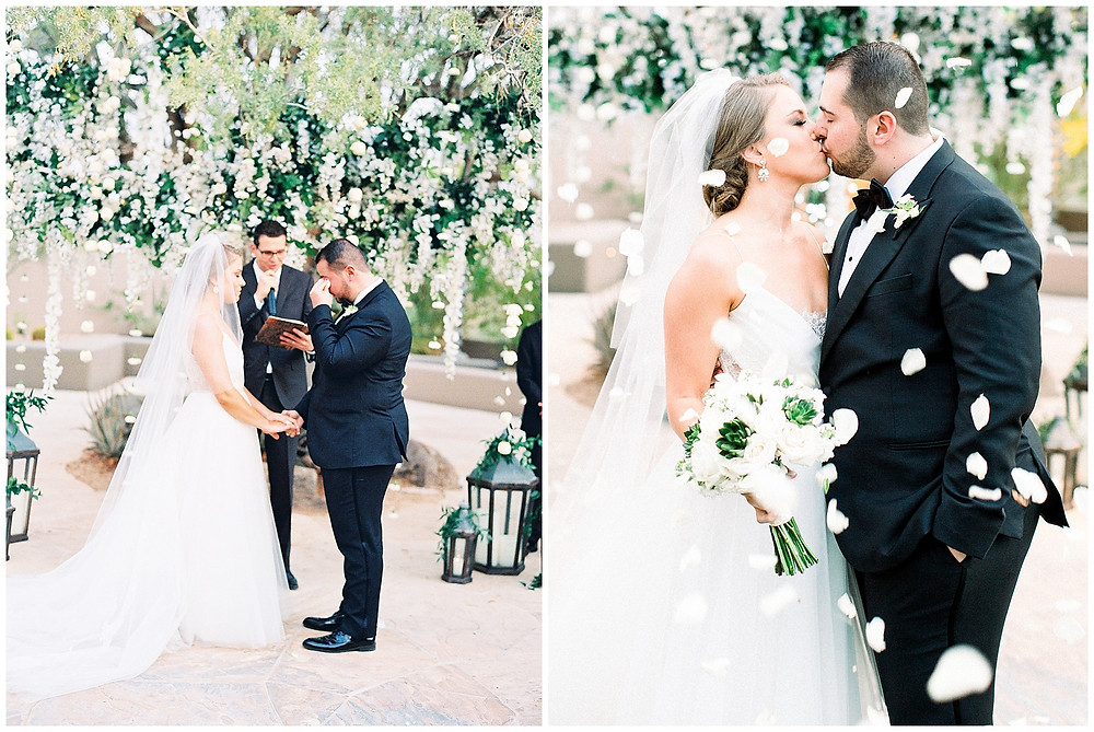 Four Seasons Scottsdale Wedding Ceremony