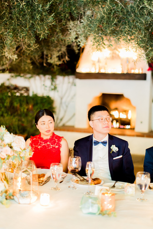 El Chorro Wedding, Traditional Chinese Wedding, Toasts