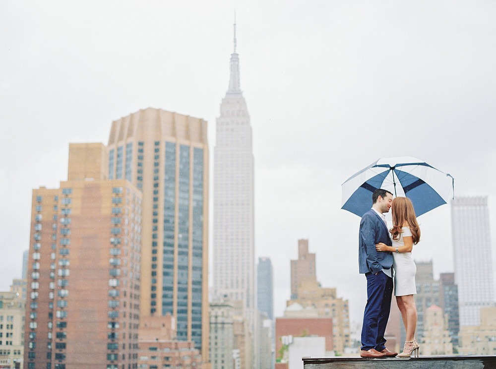 Empire State Engagement Shoot | New York, NY | Elyse Hall Photography
