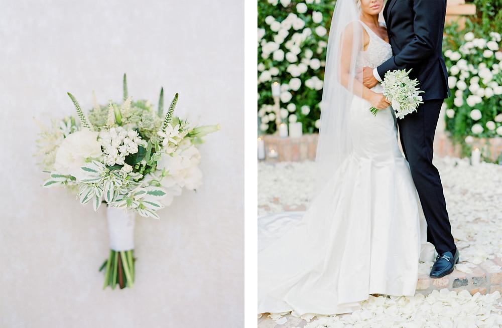 Royal Palms Wedding, Details, Bouquet, Bride & Groom