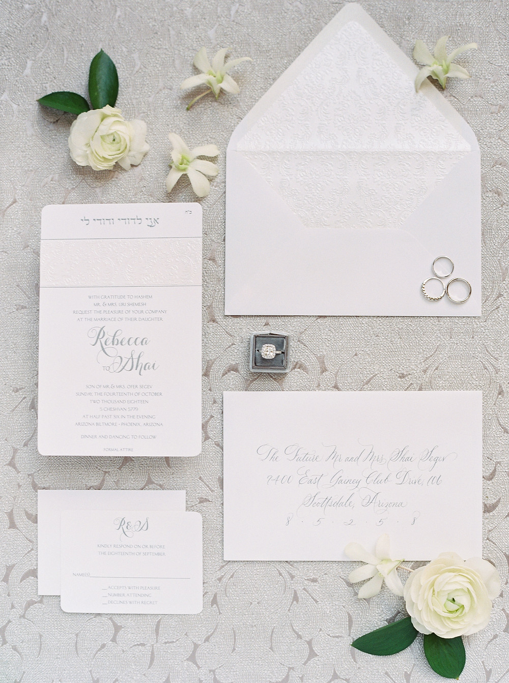 Arizona Biltmore Classic White Wedding, Details.