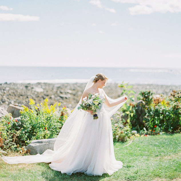 Coastal New England Wedding | Rye, NH