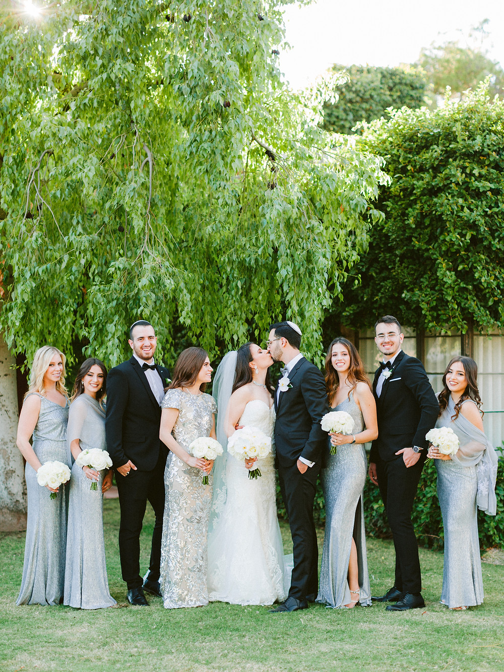 Arizona Biltmore Classic White Wedding, Bridal Party