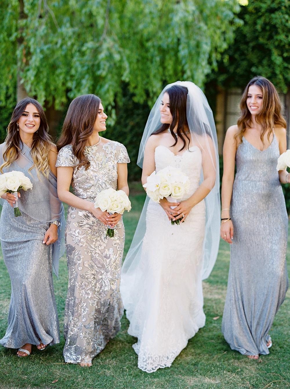 Arizona Biltmore Classic White Wedding, Bridesmaids