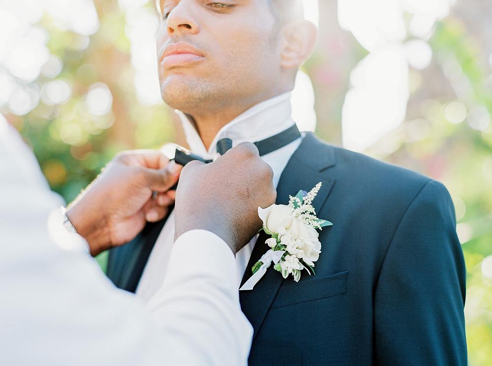 Royal Palms Wedding, Details, Getting Ready
