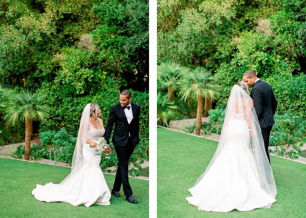 Royal Palms Wedding, Bride & Groom Portraits