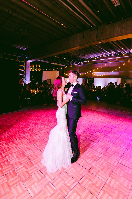 Tucson, Arizona Wedding, Reception, Bride & Groom First Dance