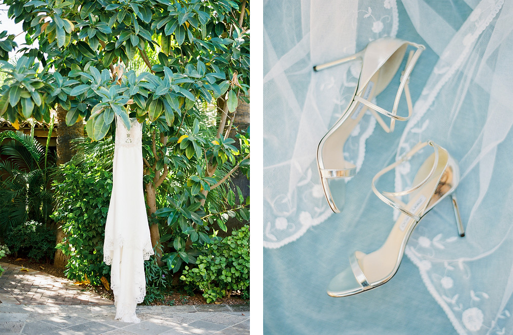Royal Palms Wedding, Bridal Details
