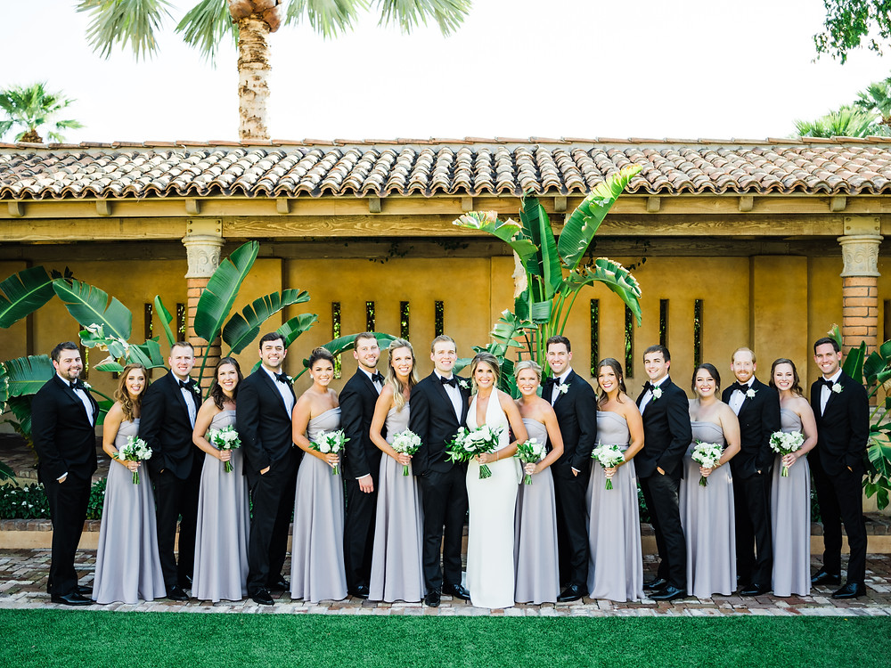 Royal Palms Wedding Party | Scottsdale, AZ | Elyse Hall Wedding Photography