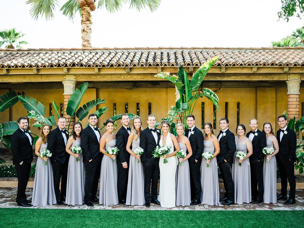 Royal Palms Wedding Party | Scottsdale, AZ | Elyse Hall Wedding Photography