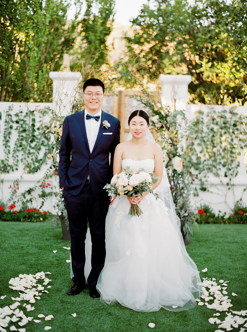 El Chorro Wedding, Traditional Chinese Wedding, Couple Portraits