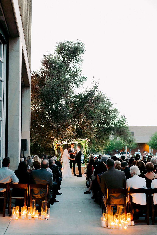 Tucson, Arizona Wedding, Jewish Ceremony