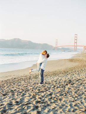 San Francisco Engagements - Danielle & Rob