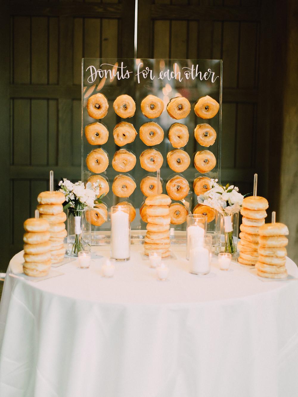 DC Ranch Wedding, Reception Details