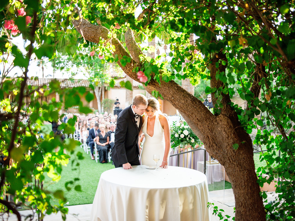 Royal Palms Wedding Ceremony | Scottsdale, AZ | Elyse Hall Wedding Photography