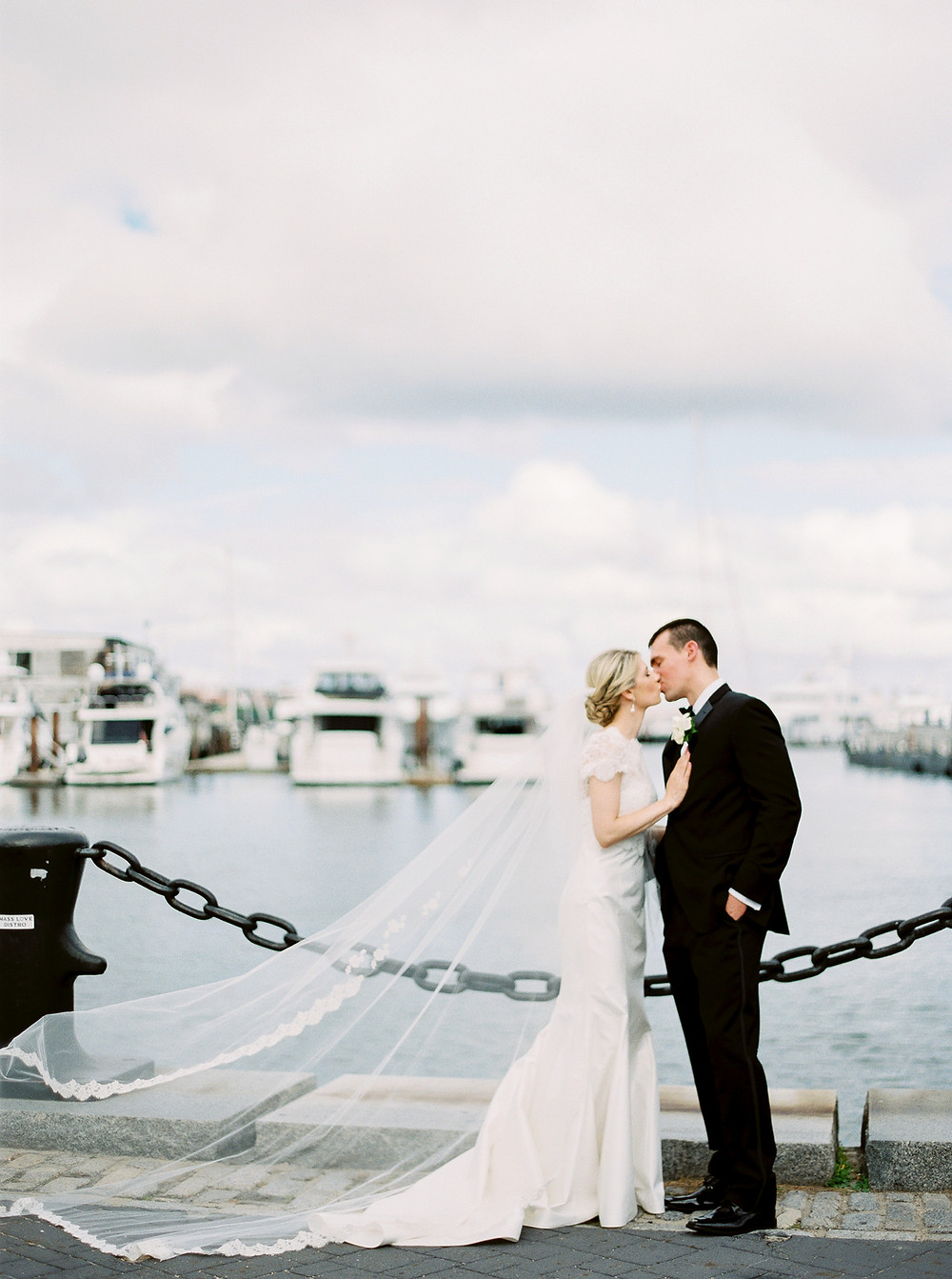 Boston Wedding, Bride & Groom Portraits