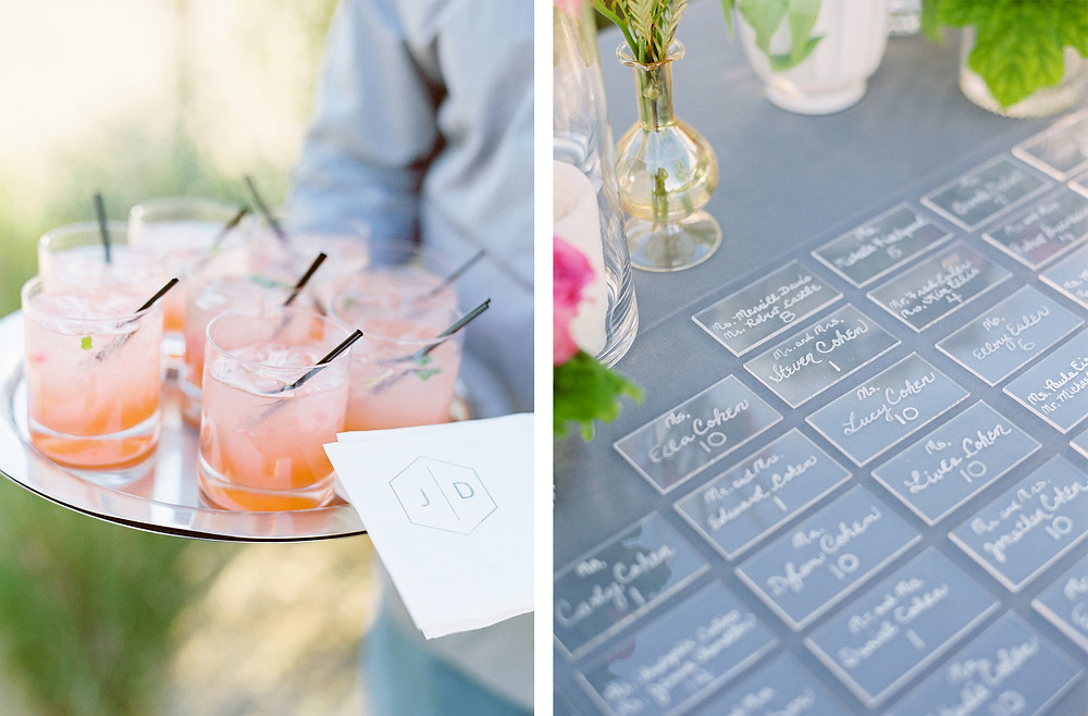 Andaz Scottsdale Wedding, Cocktail Hour Details