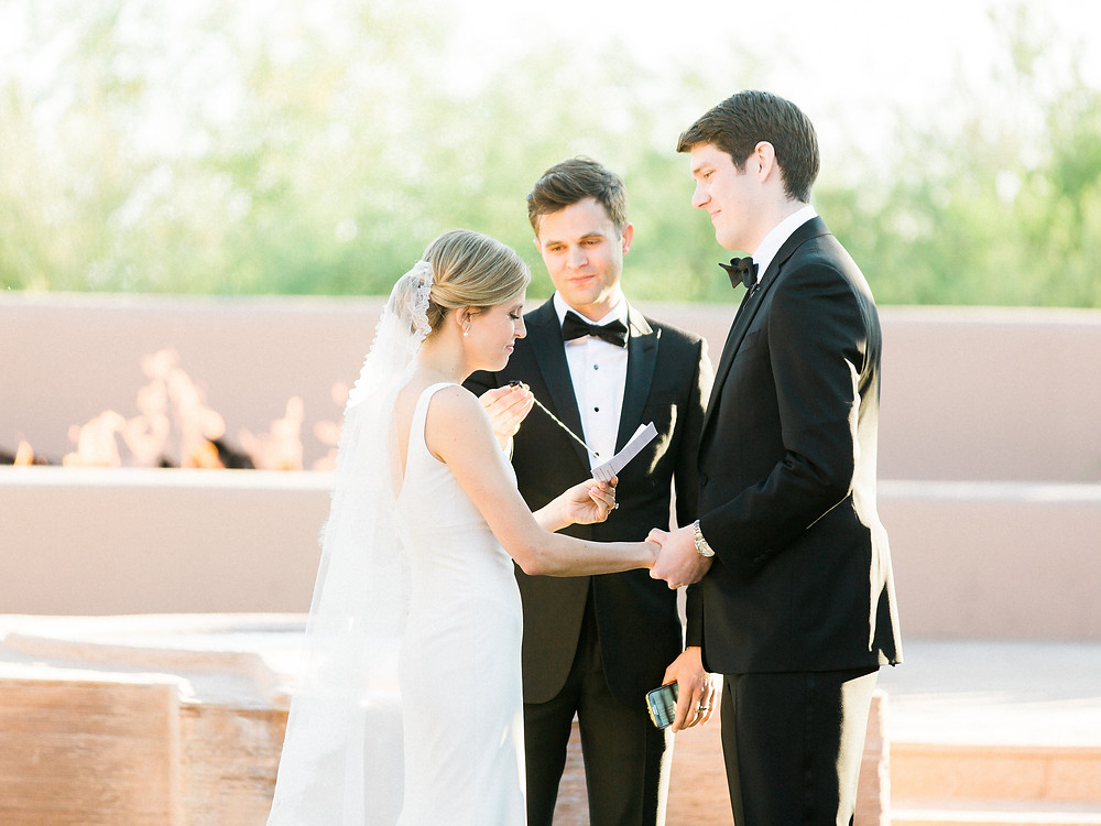 Four Seasons in Scottsdale Arizona Ceremony