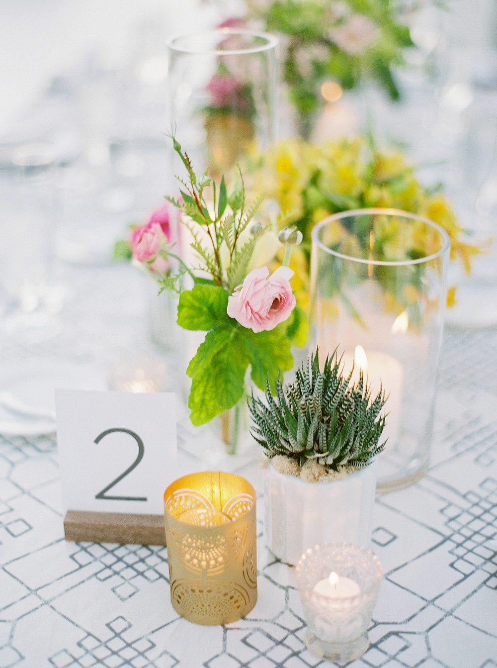 Andaz Scottsdale Wedding, Reception Details