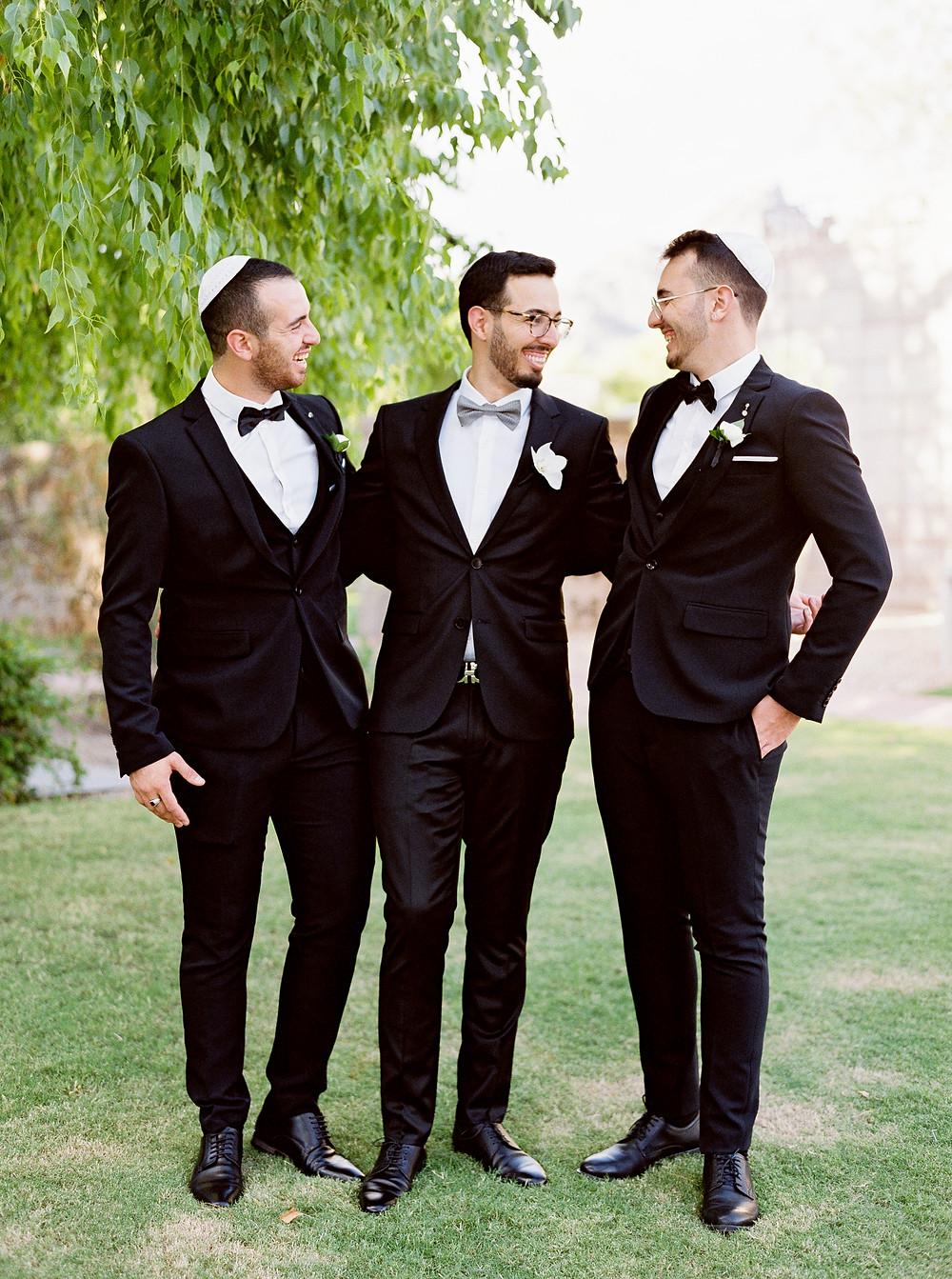 Arizona Biltmore Classic White Wedding, Groomsmen