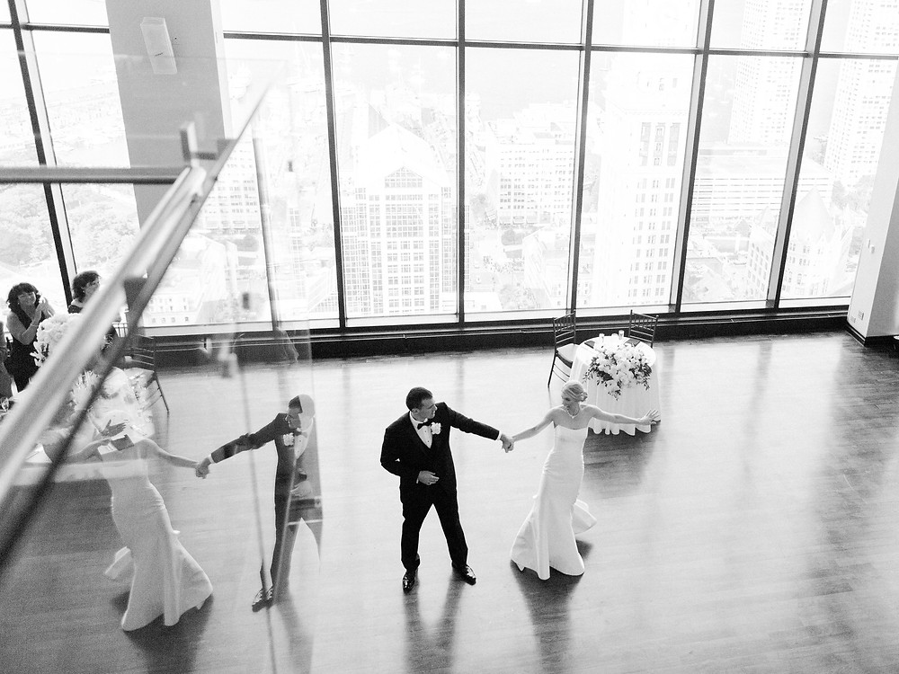 Boston Wedding, Reception, First Dance