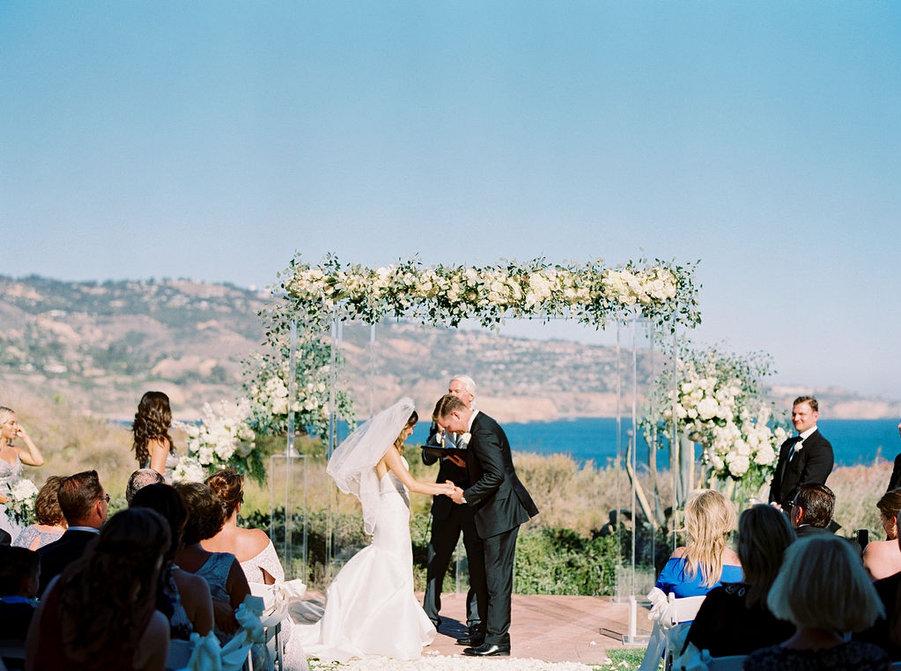 Costal California Wedding | Ranchos Palos Verde, CA | Elyse Hall Wedding Photographer