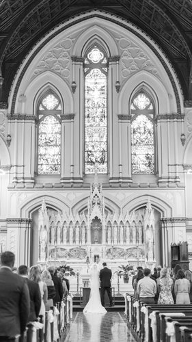 Classic Boston Harbor Wedding