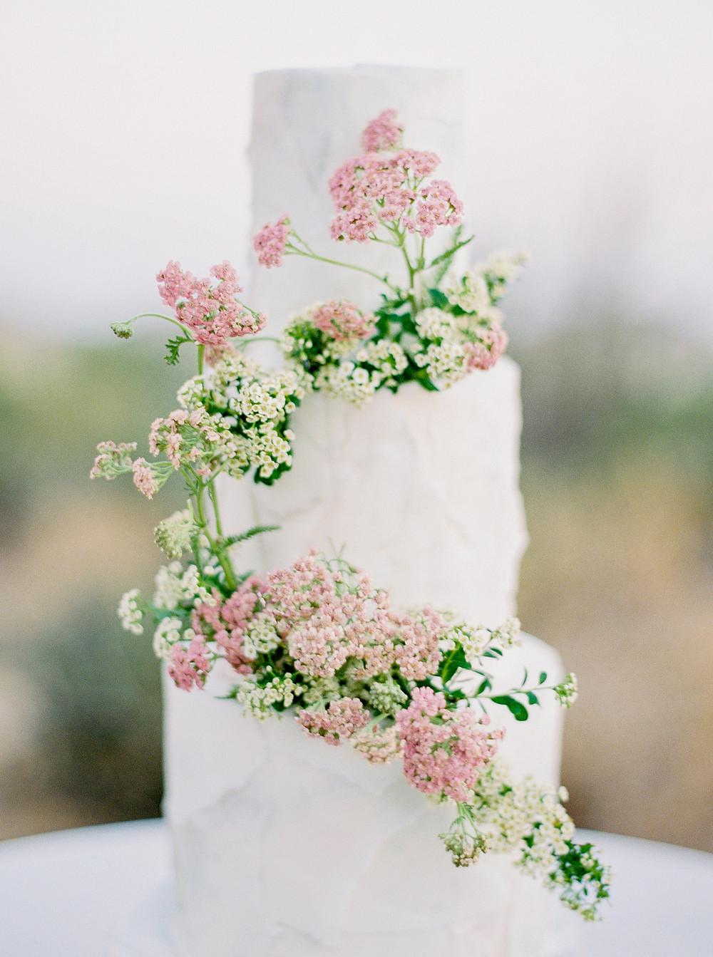 Four Seasons at Troon North in Scottsdale Arizona, Reception Details, Wedding Cake