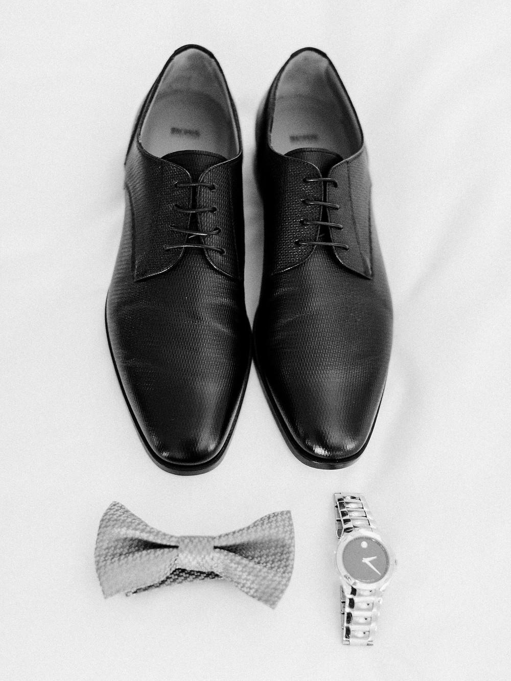 Arizona Biltmore Classic White Wedding, Groom Details