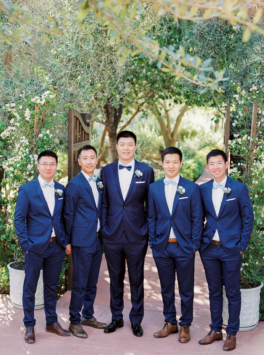 El Chorro Wedding, Traditional Chinese Wedding, Bridal Party