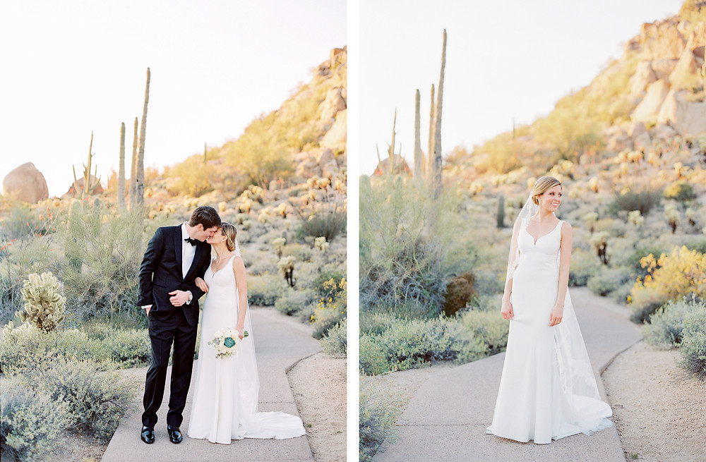 Four Seasons in Scottsdale Arizona Couple Portrait Session