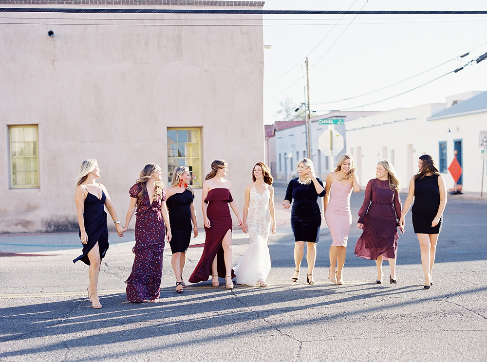 Tucson, Arizona Wedding, Bridesmaids Portrait