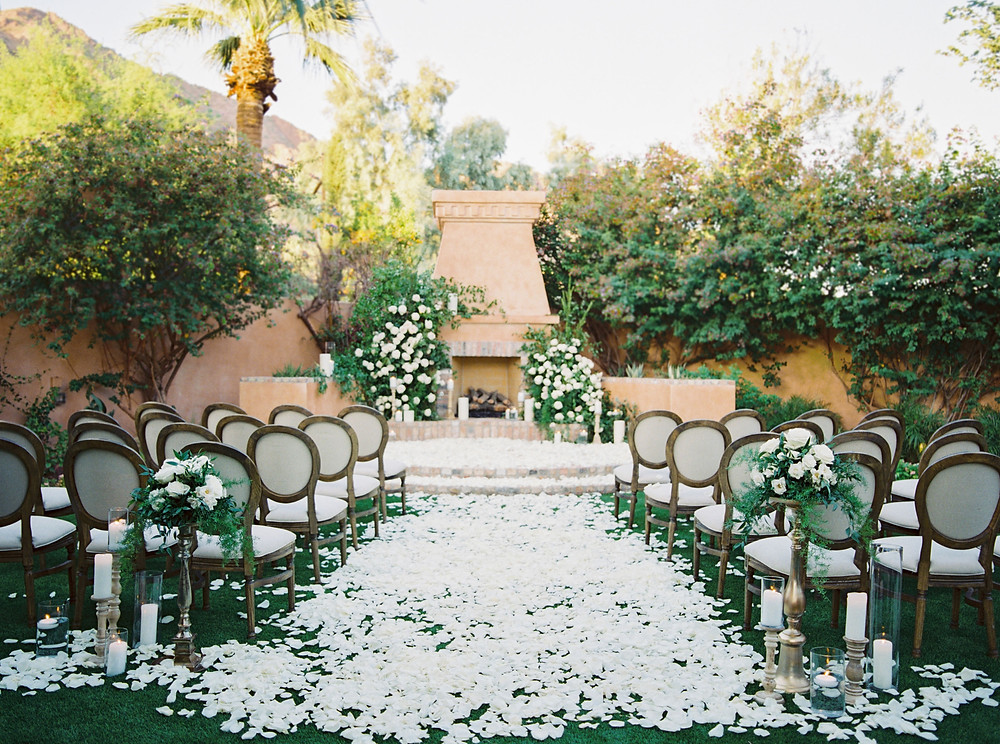 Royal Palms Wedding, Ceremony Details