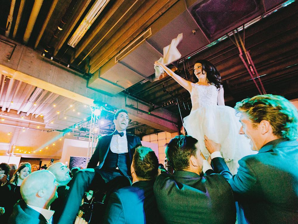 Tucson, Arizona Wedding, Reception, Bride & Groom Hora