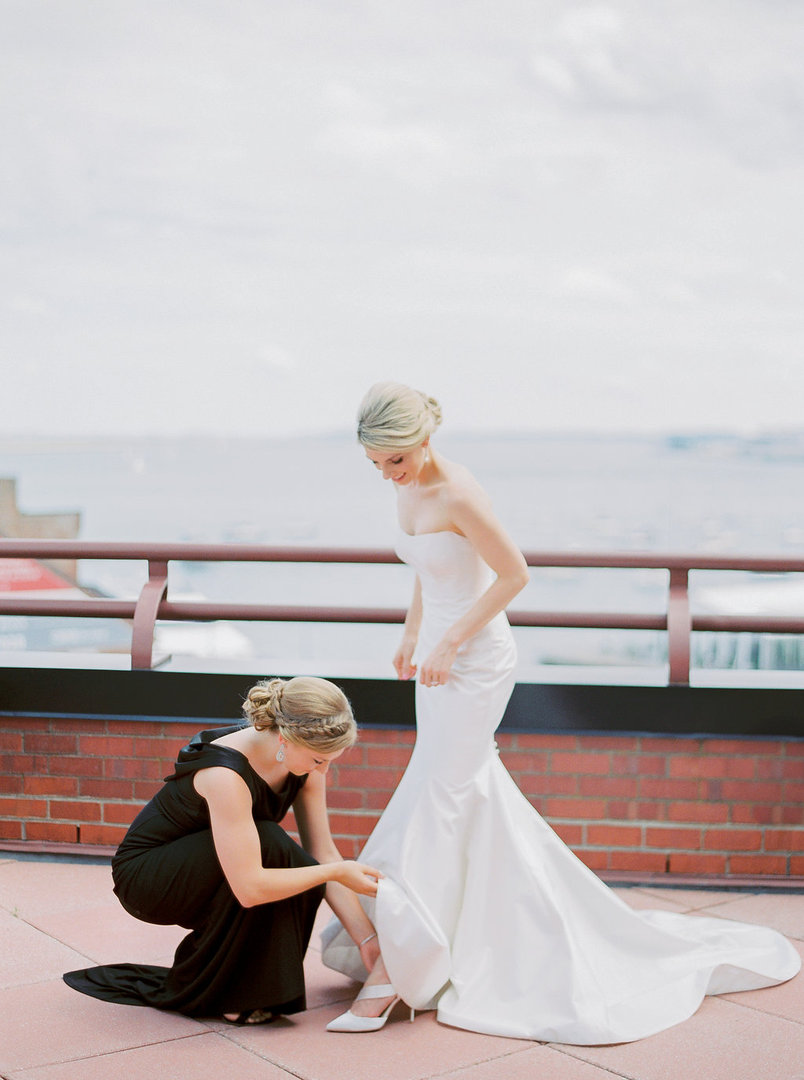 Boston Harbor Wedding | Boston, MA | New England Wedding Photographer