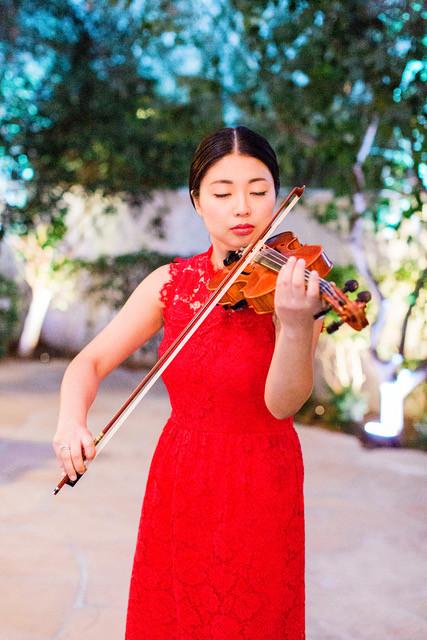 El Chorro Wedding, Traditional Chinese Wedding, Reception Details, Bride, Violin Performance