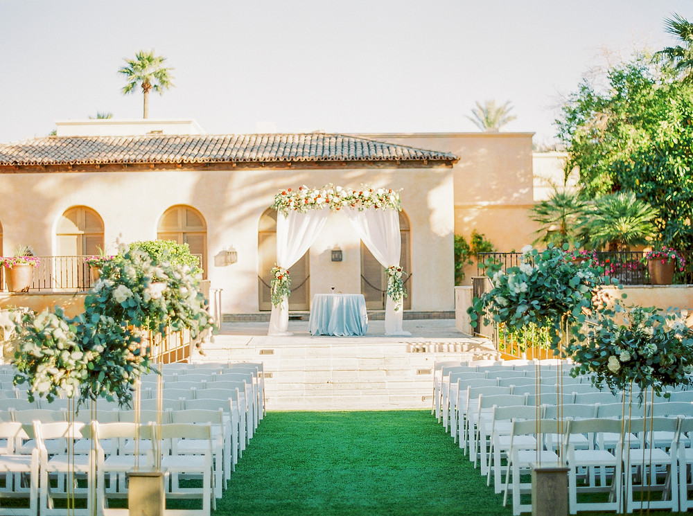 Royal Palms Wedding, Ceremony, Details