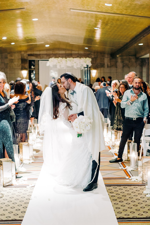 Arizona Biltmore Classic White Wedding, Ceremony, Mr. & Mrs.