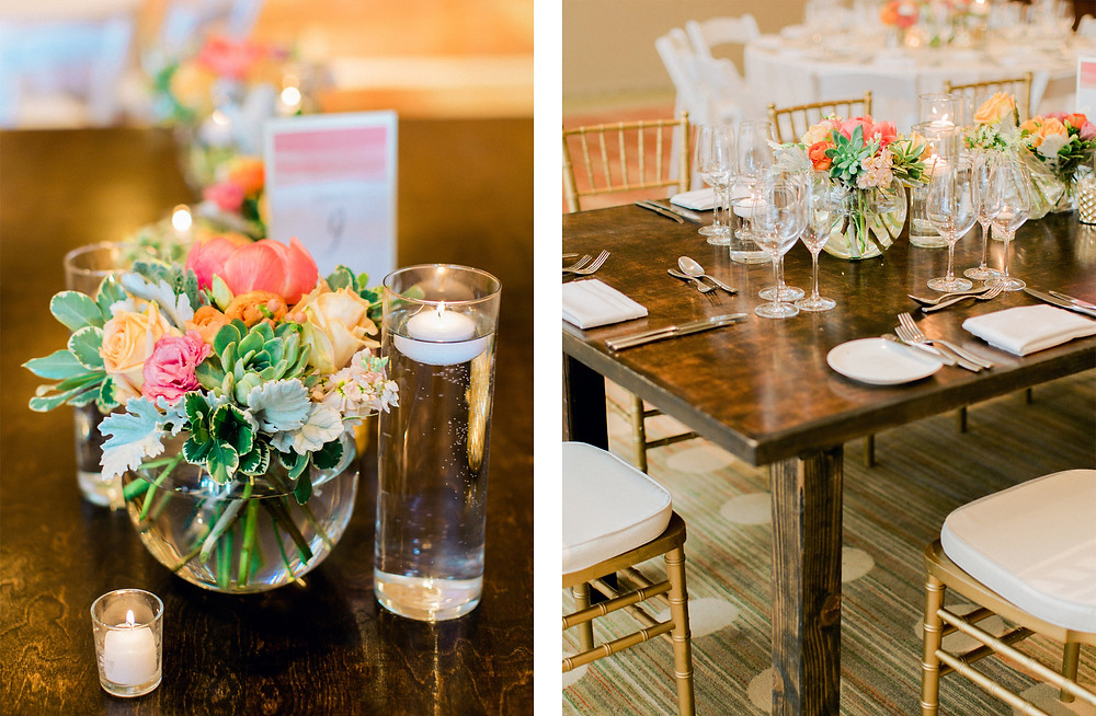 Ritz Carlton Dove Mountain Wedding, Reception Details
