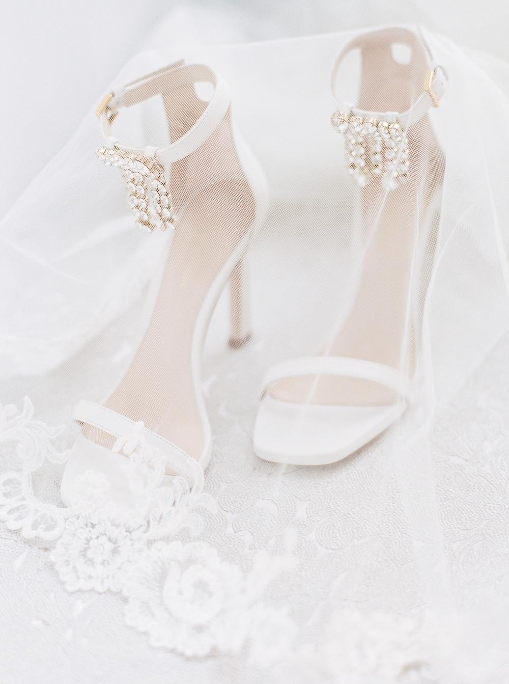 Arizona Biltmore Classic White Wedding, Shoes