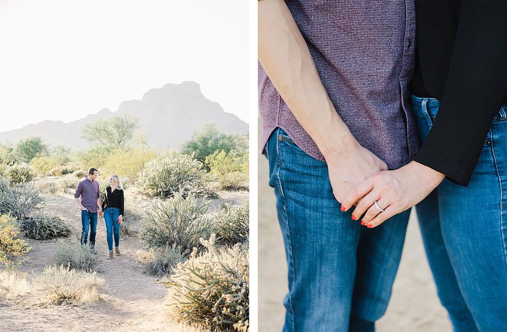 Four Seasons Troon North Engagement | Scottsdale, AZ | Elyse Hall Photography