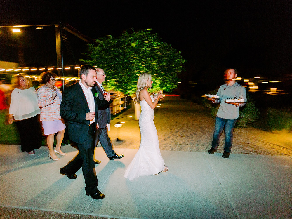 Andaz Scottsdale Wedding, Reception
