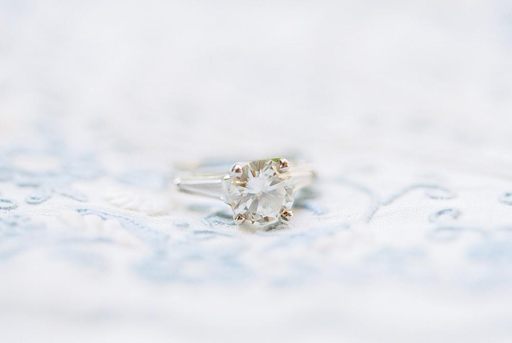 Scottsdale Four Seasons desert wedding.  Wedding Ring