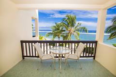 Beachfront Deluxe Room Balcony