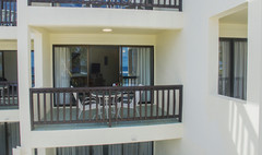 Balcony of a Beachfront Deluxe Room