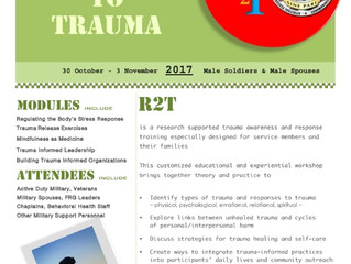 Responses to Trauma for USASOC Male Soldiers and USASOC Male Spouses