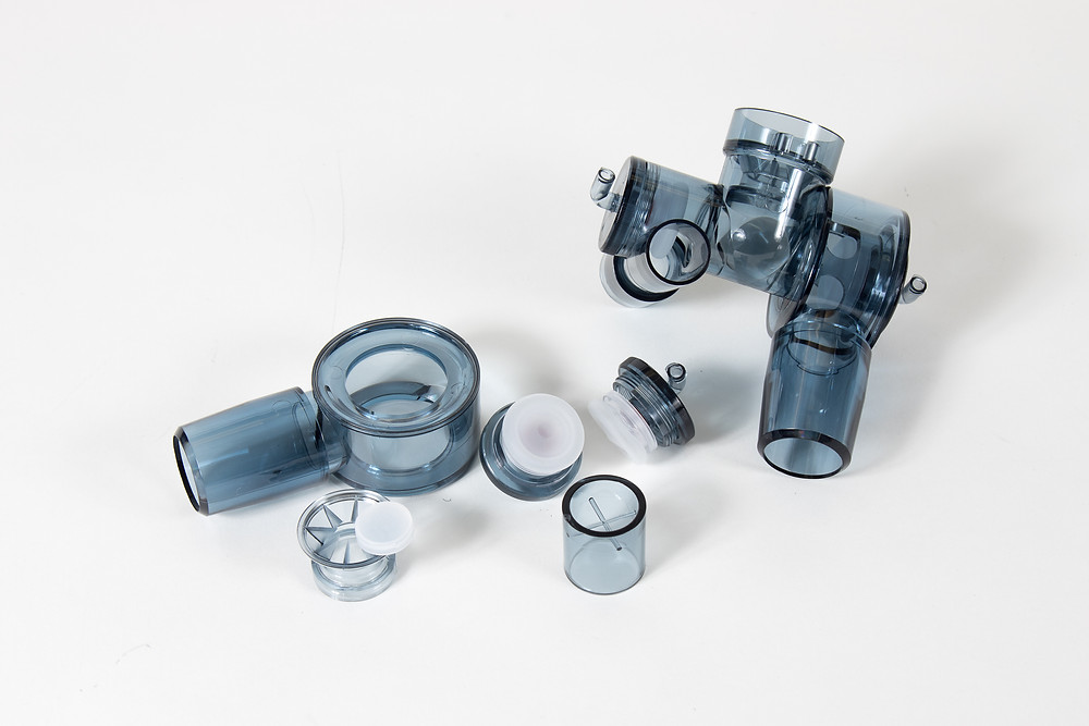 Plastic Injected Components on Display